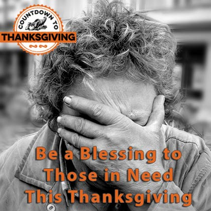 Help this Thanksgiving